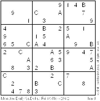 Playful image pertaining to monster sudoku printable