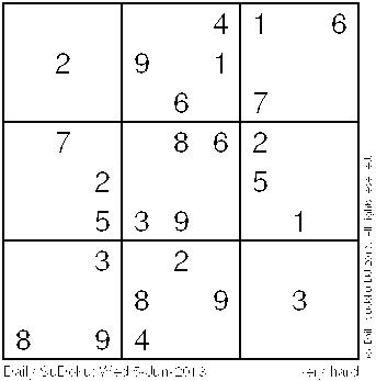 daily sudoku today
